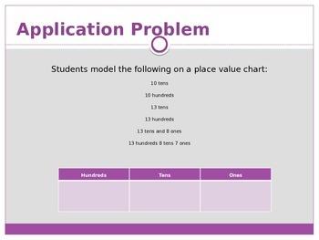 Engage New York / Eureka Grade 3 Module 2 Lesson 14 PowerPoint