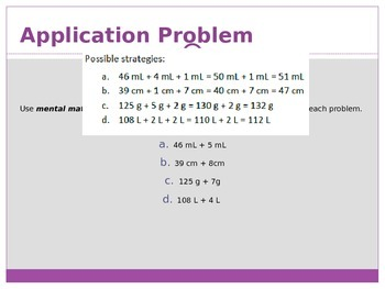 Engage New York / Eureka Grade 3 Module 2 Lesson 15 PowerPoint