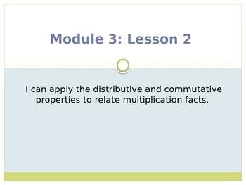 Engage New York / Eureka Grade 3 Module 3 Lesson 2 PowerPoint