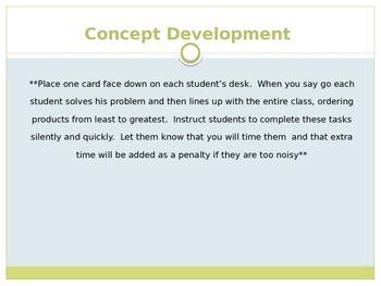 Engage New York / Eureka Grade 3 Module 3 Lesson 21 PowerPoint