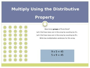 Engage New York / Eureka Grade 3 Module 3 Lesson 3 PowerPoint