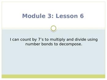 Engage New York / Eureka Grade 3 Module 3 Lesson 6 PowerPoint