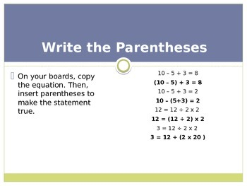 Engage New York / Eureka Grade 3 Module 3 Lesson 9 PowerPoint