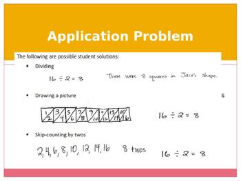 Engage New York / Eureka Grade 3 Module 4 Lesson 3 PowerPoint