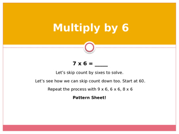 Engage New York / Eureka Grade 3 Module 4 Lesson 8 Powerpoint