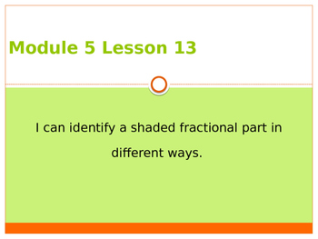Engage New York / Eureka Grade 3 Module 5 Lesson 13 PowerPoint