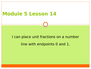 Engage New York / Eureka Grade 3 Module 5 Lesson 14 PowerPoint