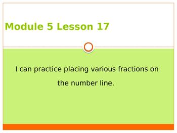 Engage New York / Eureka Grade 3 Module 5 Lesson 17 PowerPoint