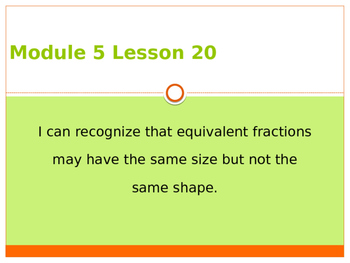Engage New York / Eureka Grade 3 Module 5 Lesson 20 PowerPoint