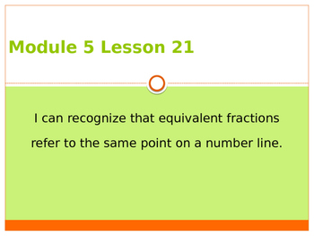 Engage New York / Eureka Grade 3 Module 5 Lesson 21 PowerPoint