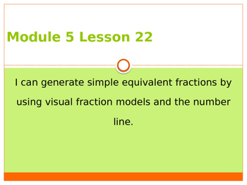 Engage New York / Eureka Grade 3 Module 5 Lesson 22 PowerPoint