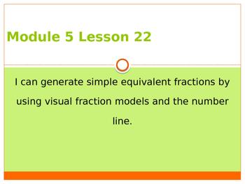 Engage New York / Eureka Grade 3 Module 5 Lesson 22 PowerPoint