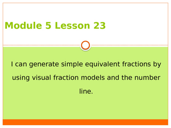 Engage New York / Eureka Grade 3 Module 5 Lesson 23 PowerPoint