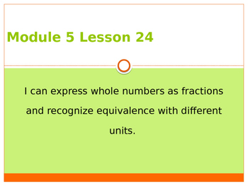 Engage New York / Eureka Grade 3 Module 5 Lesson 24 PowerPoint