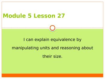 Engage New York / Eureka Grade 3 Module 5 Lesson 27 PowerPoint