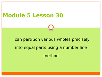 Engage New York / Eureka Grade 3 Module 5 Lesson 30 PowerPoint