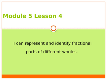 Engage New York / Eureka Grade 3 Module 5 Lesson 4 PowerPoint