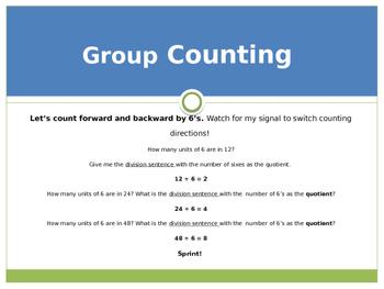 Engage New York / Eureka Grade 3 Module 6 Lesson 3 PowerPoint