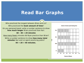 Engage New York / Eureka Grade 3 Module 6 Lesson 4 PowerPoint