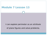 Engage New York / Eureka Grade 3 Module 7 Lesson 13 Powerpoint
