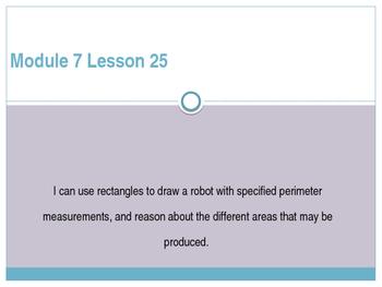 Engage New York / Eureka Grade 3 Module 7 Lesson 25