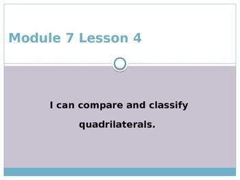 Engage New York / Eureka Grade 3 Module 7 Lesson 4 PowerPoint