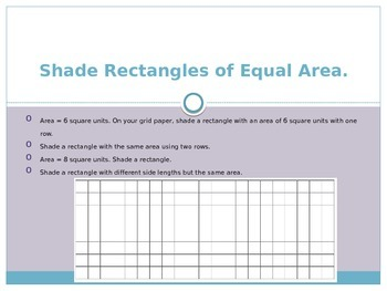 Engage New York / Eureka Grade 3 Module 7 Lesson 8 PowerPoint