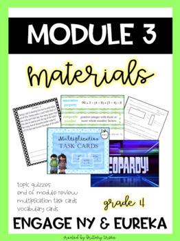Engage NY/ Eureka Math Module 3, Grade 4, Bundle of Materials