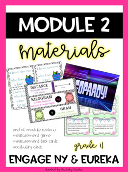 Engage NY Grade 4 Common Core Math, Module 2 Bundle of Materials