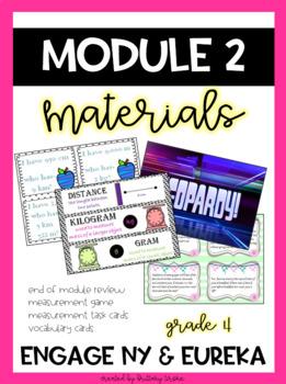 Engage NY/Eureka Math Module 2, Grade 4, Bundle of Materials