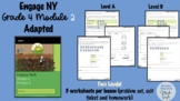 Engage NY - Grade 4 Module 2 - Level A and B - Adapted Version