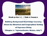 Engage NY Grade 5 ELA Module 1 Unit 2 Esperanza Rising  (L