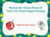 Engage NY Grade 5 ELA Module 3 Unit 3 Lesson 2 FREE