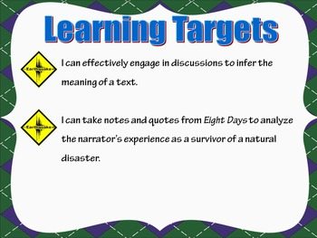 Engage NY Grade 5 ELA Module 4 Unit 2 Complete Lessons 1-9: Natural Disasters