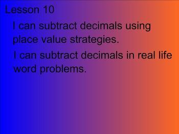 Engage NY - Grade 5 Module 1 Lesson 10