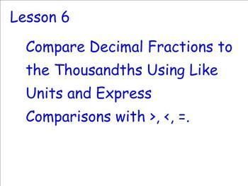 Engage NY - Grade 5 Module 1 Lesson 6