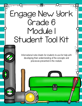Engage NY Grade 6 Module 1 Student Tool Kit