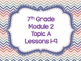 Engage NY Grade 7 Module 2 Topic A-Editable