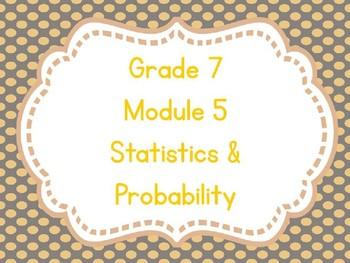 Engage NY Grade 7 Module 5 Topic A-Editable