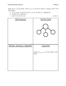 Engage NY / Great Minds Application Problems Grade 2 / Module 6