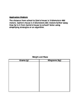 Engage NY Guided Notes Module 2 Lesson 2