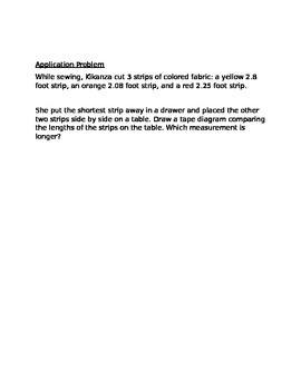 Engage NY Guided Notes Module 6 Lesson 11