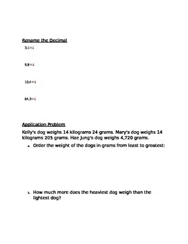 Engage NY Guided Notes Module 6 Lesson 9