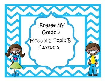 Engage-NY Interactive Mimio .ink Bundle Module 1, Topic B, Lessons 4, 5, & 6