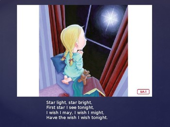 Engage NY Kinder ELA Unit 1 Nursery Rhyme and Fable 6a Star Light, Star Bright