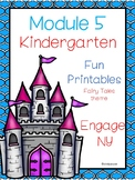Engage  NY, Kindergarten, Fun Printables, Module 5