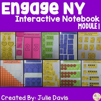 Engage NY Kindergarten Math Module 1 Interactive Notebook