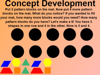 Engage NY Kindergarten Math Module 1 Lesson 23 SmartBoard