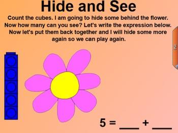 Engage NY Kindergarten Math Module 1 Lesson 24 SmartBoard