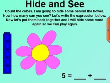 Engage NY Kindergarten Math Module 2 Lesson 6 SmartBoard